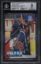1994-95 Stadium Club Super Team Members Only Edmonton Oilers Mint BGS 9 Sub 9.5