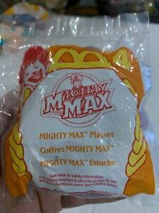 """1995 McDonald's Mighty Max Happy Meal Toy NEW """"Blue Skull"""" #4"""