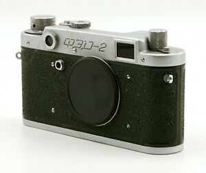 Green FED-2 M39/LTM Rangefinder 135 Film Camera Body! Good Condition!
