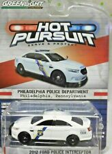 GREENLIGHT Hot Pursuit 16 Philadelphia Police 12 FORD POLICE INTERCEPTOR Taurus