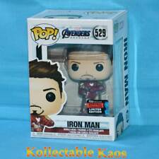 2019 NYCC FCE - Avengers 4: Endgame - Tony Stark w Nano Gauntlet Pop! Vinyl (RS)