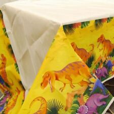 Prehistoric Party Paper Table Cover Dinosaur Birthday Party Tableware