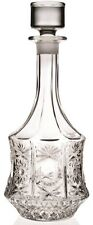 Rcr Crystal Glass Impero Decanter Tall Round Wine Whiskey Decanter