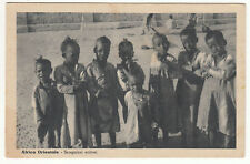 CARTE POSTALE AFRICA ORIENTALE SCUGNIZZI ERITREI