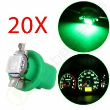 20X Green B8.5D 5050 Epistar SMD LED Bulbs Instrument Gauge Dash Light Lamp