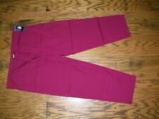 Dickies Scrubs Dawstring Bottoms PAnts Wine MAroon 50106A Size 2XL