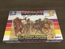 Italeri 6854 Saracen Warriors  XIth Century Crusade 8 Cavalry Figures 54mm New