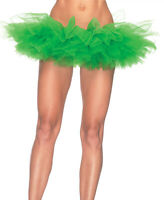New Leg Avenue A1705KG Kelly Green Organza Tutu Petticoat Skirt