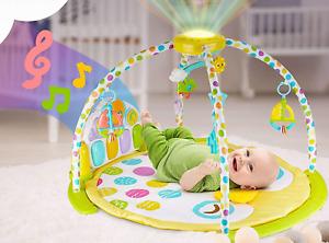 Baby Mat Gym Kick and Play Piano Activity Musical Gym Play Mat - BABYSEATER