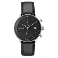 NEW Junghans Max Bill Chronoscope Men's Automatic Watch - 027/4601.04