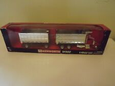 NEW RAY 1:43 TRAILER KENWORTH W900 DOUBLE DUMP TRUCK DIE-CAST CAR 15223 #2