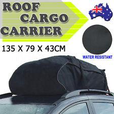 Universal Car Roof Top Rack Bag Cargo Carrier Luggage Storage Travel Waterproof