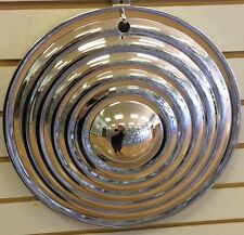 "14"" RIPPLE Style STARBURST Chrome CUSTOM Hot Rat Rod Hubcaps Wheelcover"