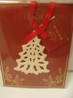LENOX PIERCED TREE CHARM USE AS ORNAMENT OR DECORATE A GIFT NEW IN PACKAGE