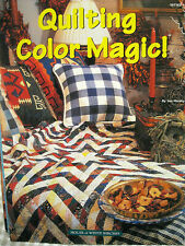 House of White Birches Quilting Color Magic 2000 quilt patterns 34pg booklet