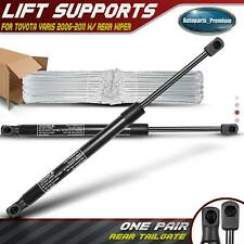 2pcs Rear Tailgate Lift Supports Struts For Toyota Yaris 2006 2011 With Rear Wiper Fits Toyota