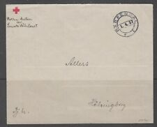 Sweden 1937. Domestic stampless Red Cross cover.