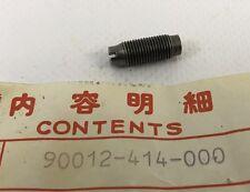 Bullone registro punterie - Screw,  tappet adjusting - Honda NOS: 90012-414-000