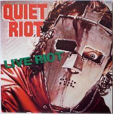 QUIET RIOT / LIVE RIOT / HARD ROCK / CBS SONY JAPAN 20AP2893