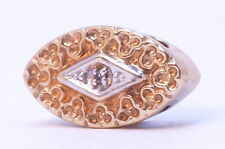 14kt Yellow Gold R Klein Kline Klien KLJCI Diamond Oval Slide Bracelet Charm