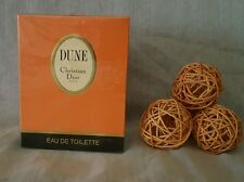 CHRISTIAN DIOR DUNE eau de toilette 100ml splash, OLD FORMULA.