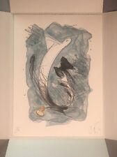 Claes Oldenburg Signed Print Inverted Collar Stud 1994