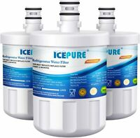 3 Pack IcePure Water Filter Replacement for LG LFX25973ST Refrigerator
