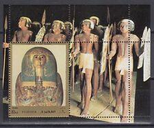 Fujeira 1972 ** Bl.119 A Altägyptische Kunst Egyptian Art Pharao