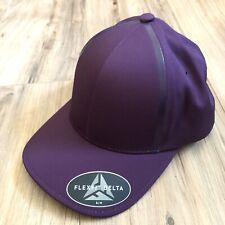 NWT Adidas Taylor Made Golf Flexfit Delta Red Purple Hat Cap Size S/M