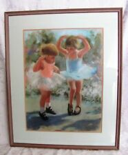 Pastel Painting on Board Signed K. Graves 20th Century