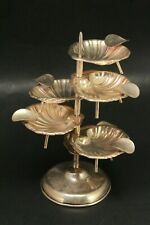 Sterling Silver Scallop Dish Ashtray Stand 123 Grams