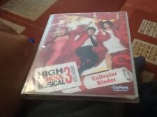 Complete Topps High School Musical 3 Binder And Set Of 4 Oversize Cards