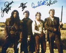 YOUNG GUNS II MOVIE CAST - PHOTOGRAPH SIGNED WITH CO-SIGNERS