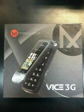 MaxWest VICE 3G Flip Phone  Factory Unlocked Mobile Cell Phone - Black!