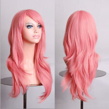Women Fashion Full Curly Wigs Cosplay Costume Anime Party Long Wavy Hair 27.55""