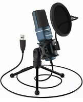 TONOR TC-777 USB Gaming Microphone TONOR Computer Condenser PC Mic NEW