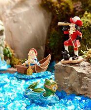 Neverland Crocodile / Smee / Captain Hook set GI 711319 Miniature Fairy Garden