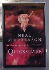 "Quicksilver Book Cover - 2"" X 3"" Fridge / Locker Magnet. Neal Stephenson"