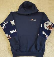 NEW ENGLAND PATRIOTS HOODIE SML-3XL FULL ZIP OR PULLOVER