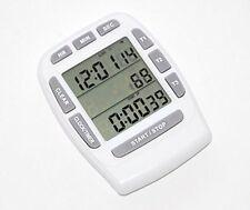 Triple timer clock kitchen 3 alarm fridge magnet digital lcd count down egg bbq