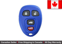 1x New Replacement Keyless Entry Blue Remote Control Key Fob For Chevy Buick GMC