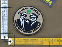 """Ricamata / Embroidered Patch Usaf PJ """"Blues Brothers"""" with VELCRO® brand hook"""