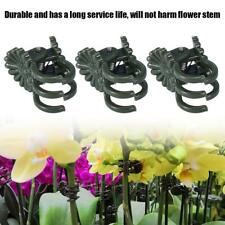 40Pcs Plastic Stem Clips Plant Support Orchid Garden Tools Flower Grow Upright