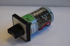 ABB ABG10 SWITCH SK6320177 10AMP ROTARY SWITCH - NEW