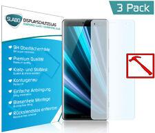 """3 x Slabo PREMIUM Panzerglasfolie für Sony Xperia XZ3 KLAR """"Tempered Glass"""" 9H"""