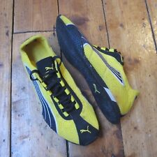 Puma H Street Yellow + Black Trainers Running Shoes UK Size 6 EUR 39 Women's