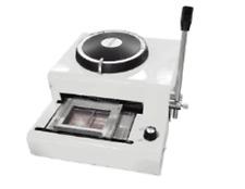 Manuel carte gaufreuse de crédit VIP ID PVC 72 symbole gaufrage machine à estamper