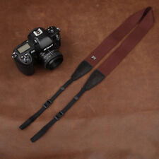 Adjustable Cam-in Camera Cotton Shoulder Neck Strap for DSLR CANON NIKON SONY