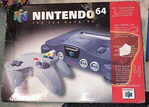 Original Nintendo 64 Console EMPTY BOX And Styrofoam Insert, NO SYSTEM #2