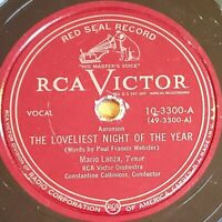Mario Lanza: The Loveliest Night Of The Year:  RCA Victor Red Seal 1951 (Pop)